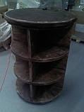 Торговое оборудование из дерева. Стеллажи, витрины, стойки деревянные, фото 4