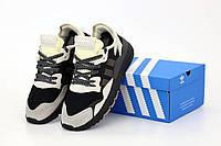Мужские кроссовки Адидас Найт Джоггеры серые (Adidas Nite Jogger Grey)