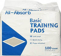 All-Absorb (Олл-Абсорб) Regular пеленки для собак 56х58см, 100шт.