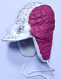 Шапка зимова, малиновий, david's Star, р. 48-50 50-52, фото 2