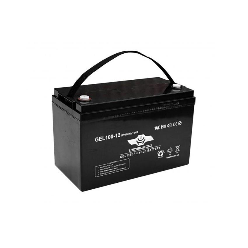Аккумулятор гелевый - 100 Ач 12В Haswing GEL 100-12