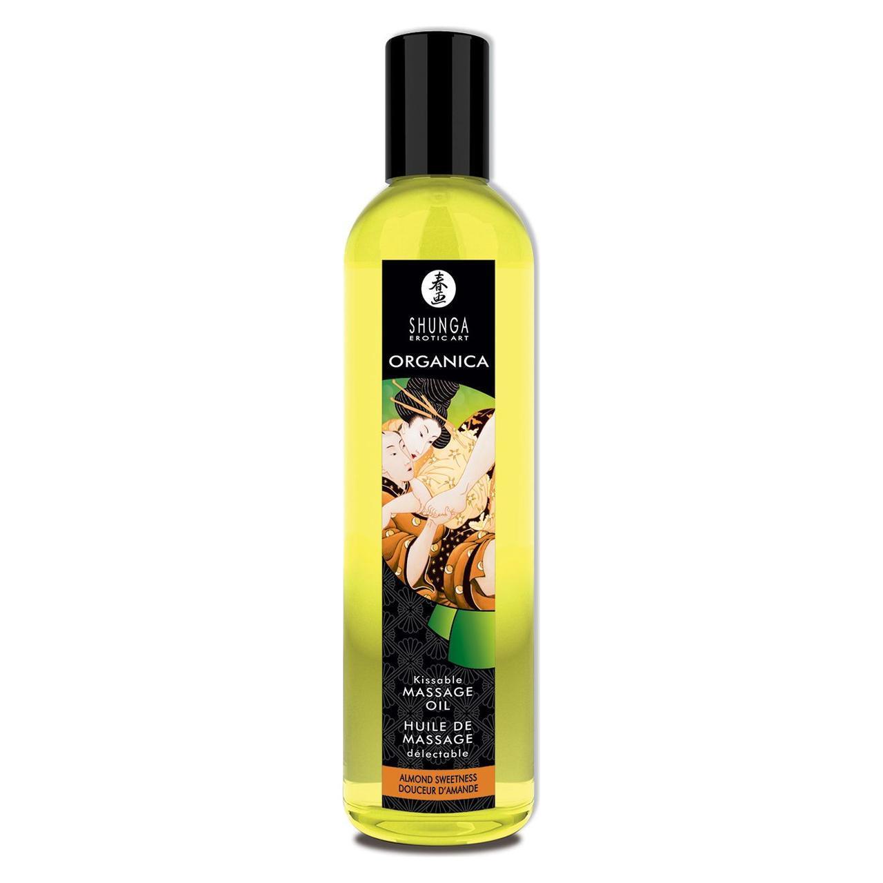Органическое массажное масло Shunga ORGANICA - Almond Sweetness