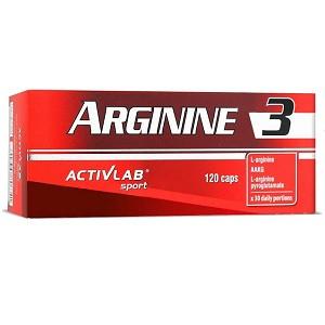 Аргинин Activlab Arginine 3 (120 капсул.)