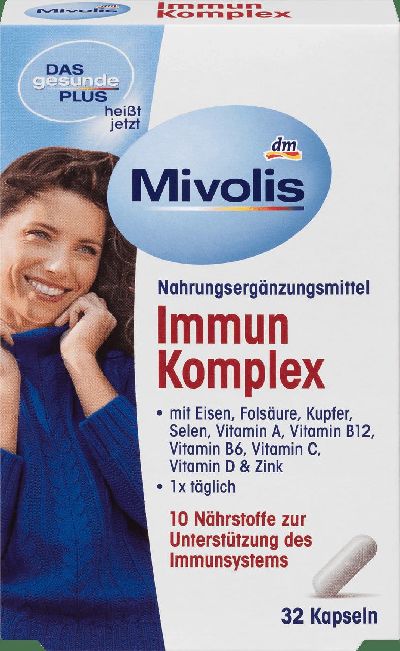 Биологически активная добавка Mivolis Immun Komplex, 32 шт.