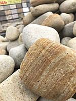 Бутовые камни Гладкие Катаные БУТ Декор в сад ландшафтный дизайн декоративные булыжники