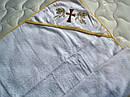 Крыжма крестильная с уголком Золотой ангел, фото 5