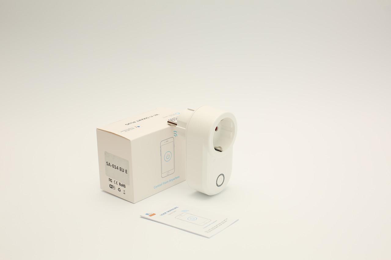 Умная WiFi розетка Socket 10A. Умная розетка беспроводное управления приборами. Умный дом