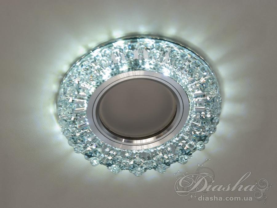 Светильник со встроенной светодиодной подсветкой&3042S-WH