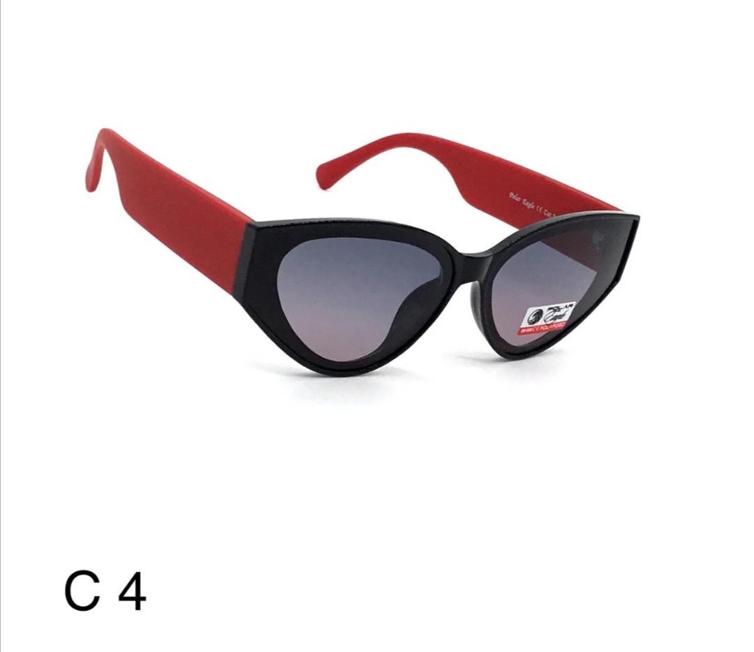 Супер модные женские солнцезащитные очки. Полароид.