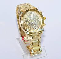 Женские часы Michael Kors золотые. Часы Майкл Корс