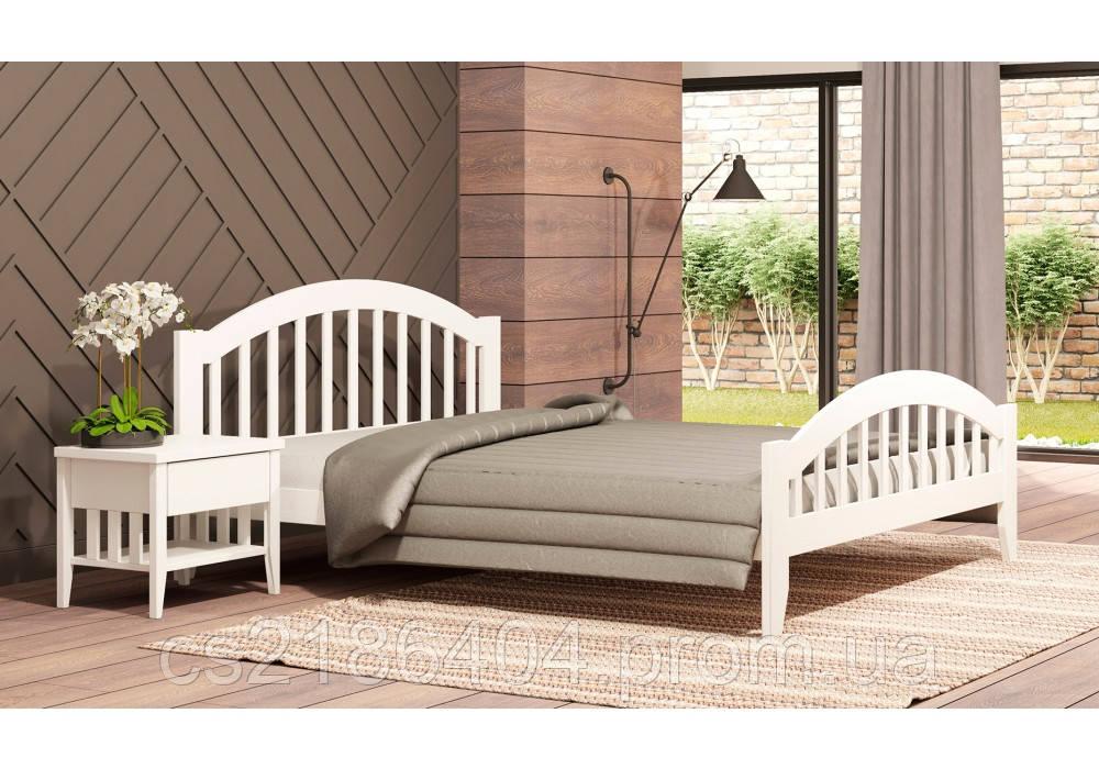 """Двоспальне дерев*яне ліжко 160х200 """"Меліса"""""""