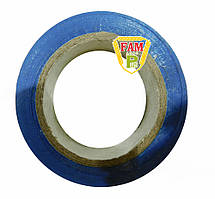 Лента изоляционная ПВХ синяя, 15 мм х 10 м E30-PVC1510BU