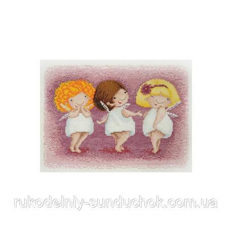 Набор для вышивания крестом ТМ Марья Искусница 15.001.17 Три Обаятельные феи