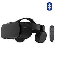 Оригинальные! Очки виртуальной реальности черный Bobo 3D VR Z6 с Наушниками и Пультом ДУ Bluetooth 110°, фото 1