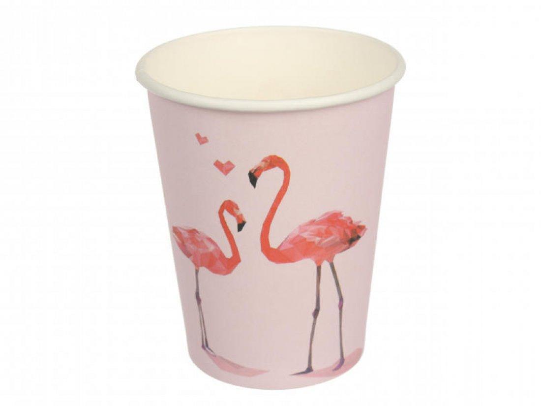 Одноразовые Стаканчики Фламинго