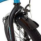 Детский велосипед колеса 16 дюймов PROFI SY16151 голубой, фото 5