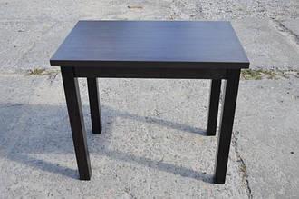 Стол Версаль венге/венге 60(120)х90х75 кухонный деревянный раскладной