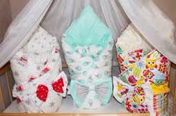 Конверты и коконы для новорожденных