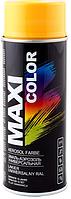 Краска золотисто-желтая алкидная MAXI COLOR, 400мл