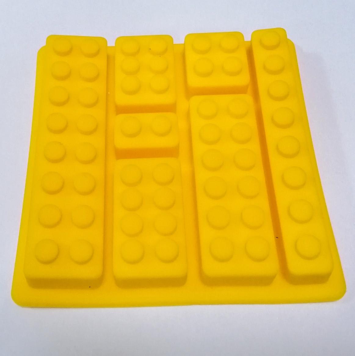 Силиконовая форма 11, 5*11,5 см, Лего Конструктор