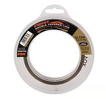 Леска с монофильным шок-лидером Fox Exocet Double Tapered Line 0.30-0.50 x 300m