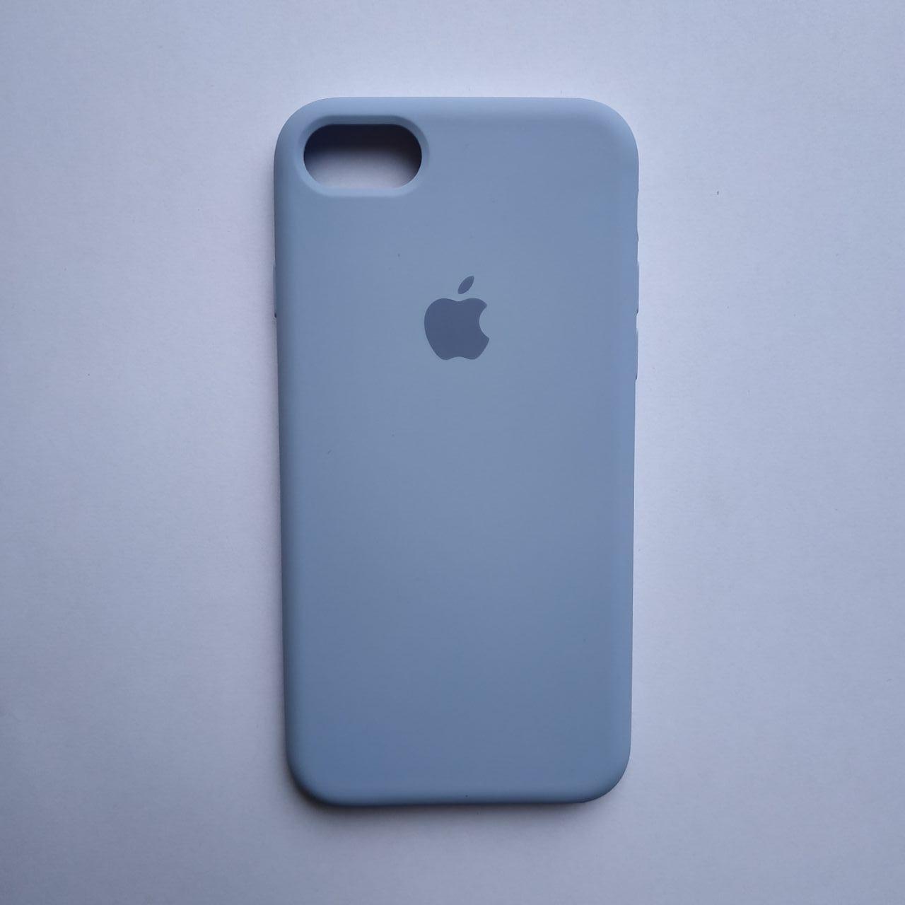 Накладка Silicone Case для Apple iPhone 7 iPhone 8 Lilac