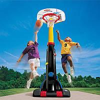 Баскетбольная стойка с кольцом Супербаскетбол Little Tikes (cкладной, регулируемая высота до 210 см)