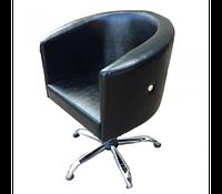 Кресло клиента для парикмахерских салонов, комплектующие польского производства модель Диана (Diana)