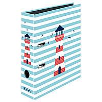 Папка-реєстратор Herlitz А4 8см Fresh Breeze Lighthouse Маяк