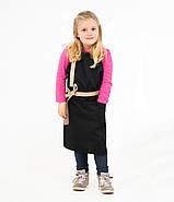 Комплект дитячий Latte Junior 7-12років | Фартух + Ковпак + Нарукавники, фото 8