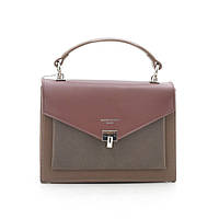Клатч David Jones CM5363 bordeaux/taupe
