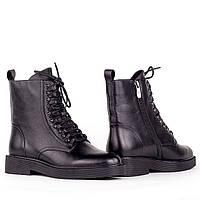 Женские стильные ботинки  Fabio Monelli H1389-C262-F472 BLACK KOGA