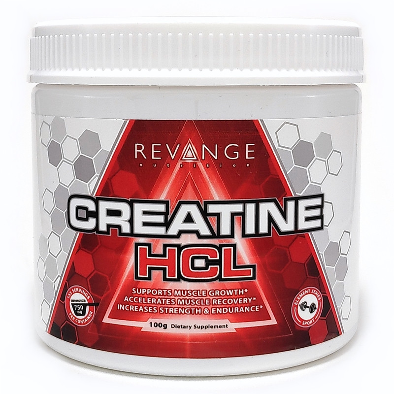 Revange Nutrition Creatine HCL 100g