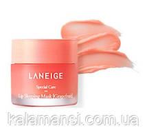 Ночная питательная маска для губ Laneige Lip Sleeping Mask 3 г, 10 г и 20 г 20 г, Grapefruit