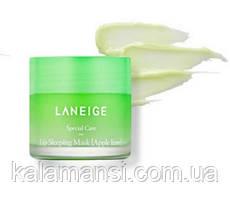 Ночная питательная маска для губ Laneige Lip Sleeping Mask 3 г, 10 г и 20 г 20 г, Apple Lime