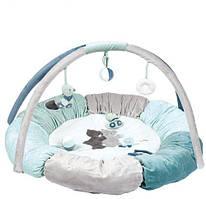 Розвиваючий килимок з дугами і подушками Джек, Юлій і Нестор Nattou 843270