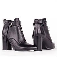 Женские стильные ботинки  Fabio Monelli H1505-A180-H1275 BLACK KOGA