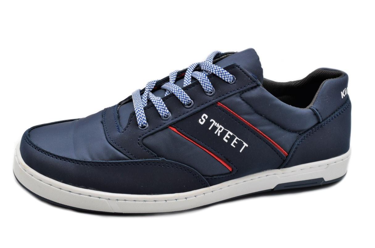 Кросівки чоловічі на весну сині 43 розмір