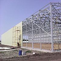 Быстровозводимые сооружения. Строительство складов. Промышленное строительство.
