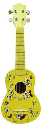 Укулеле Rose UK100-21 Спанч Боб, жёлтый принт, фото 2
