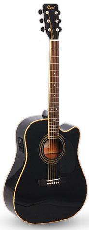 Электро-акустическая гитара Cort AD 880 CE BK