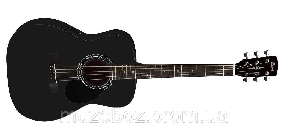 Электро-акустическая гитара Cort AF510E (BKS)