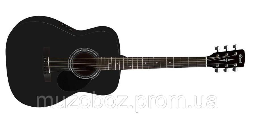 Электро-акустическая гитара Cort AF510E (BKS), фото 2