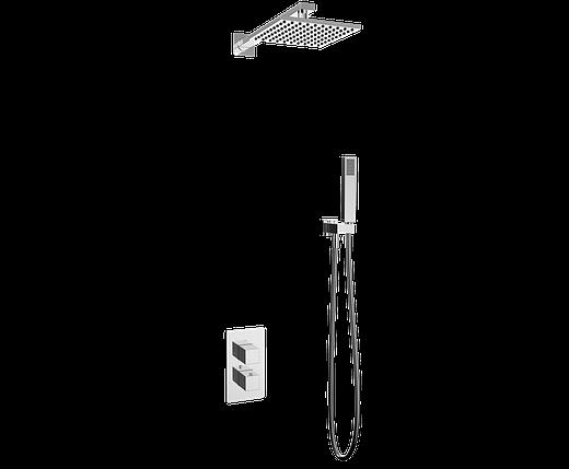 Душевая система с термостатом скрытого монтажа, фото 2