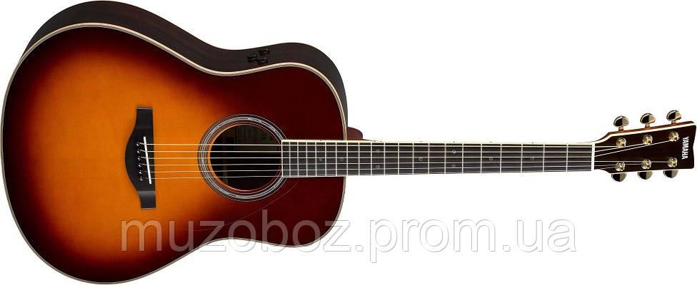 Электро-акустическая гитара Yamaha TransAcoustic LL-TA (Brown Sunburst)