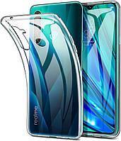 Ультратонкий 0,3 мм чехол для Realme 5s прозрачный
