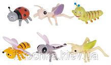 Набор игровых фигурок dingua Милые букашки 6 штук (d0104)