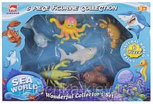 Набор игровых фигурок dingua Жители океана 6 штук (d0103)