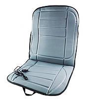 Чехол-накидка на сиденье авто с подогревом от прикуривателя Supretto, Серый - Новогодняя распродажа