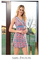 Домашнее платье Турция с принтом